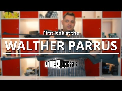 first look at the WALTHER PARRUS high powered springer air rifle