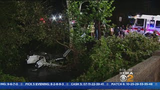 SUV Crashes Into Monroeville Creek, At Least 7 Hospitalized