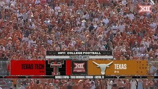 Texas Tech vs Texas Football Highlights