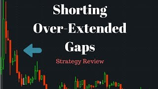 Shorting Over-Extended Gaps (Strategy Review) - Live Small Account Day Trading