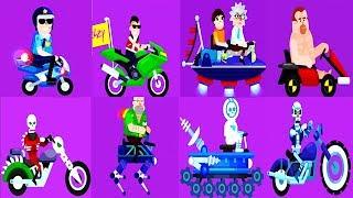 Happy Racing  - New Characters - LOLPATROL & Gregory & T-999 & Burning Blacke & MR. GORSKIY