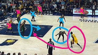 Kyrie Irving vs Victor Oladipo CLUTCH 1 ON 1 EXPLAINED