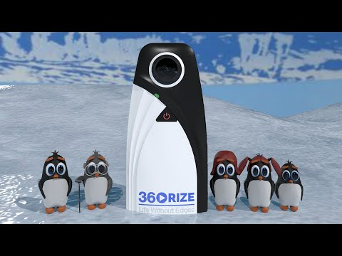 "360Rize introduces the world's first family-friendly 6K 360° VR video and 24 mega pixel panoramic photo camera. ""Chillin"" and the Penguin family discover the 360Penguin camera.  They discover it's built for all age groups and sees everything that's ""All Around You™""."