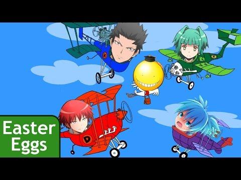 PEGUE O POLVO! | Assassination Classroom Easter Eggs