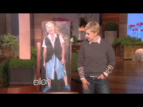 Ellen and the Ellen Art Show