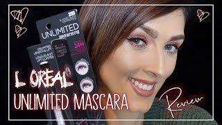 ♡ LOREAL UNLIMITED MASCARA REVIEW ♡ BEST EVER DRUGSTORE MASCARA♡