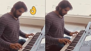 Tollywood hero Sushanth plays Piano, wins hearts..