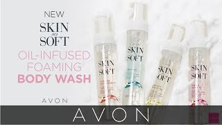 Nourish Skin with Oil-Infused Foaming Body Wash