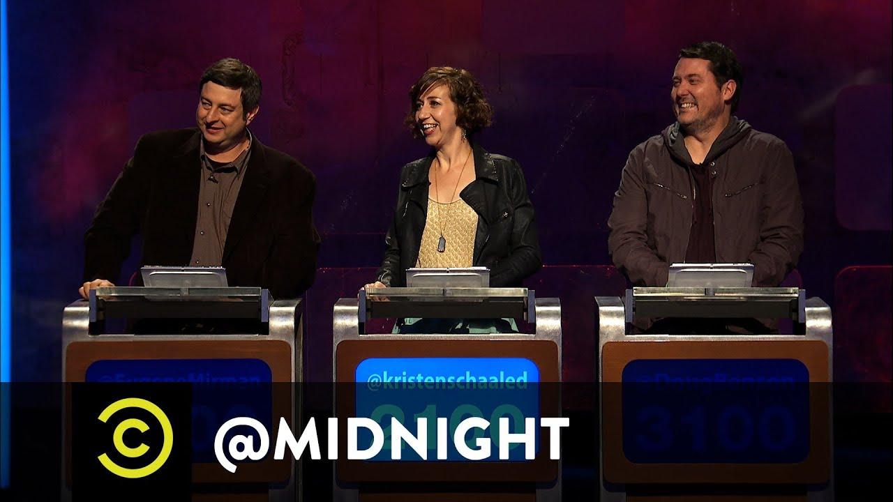 #HashtagWars - #OlderMusicians - @midnight with Chris ...  Midnight Nerdist