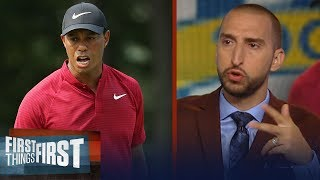 Nick Wright and Cris Carter on Tiger's PGA Championship performance | GOLF | FIRST THINGS FIRST
