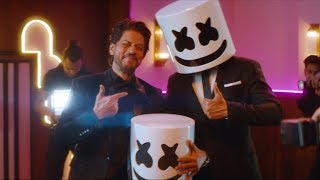Marshmello x Pritam - BIBA feat. Shirley Setia & Shah Rukh Khan (Official Music Video)