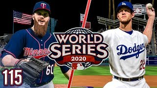World Series Begins vs Dodgers - MLB The Show 18 Franchise | Ep.115