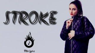 BANKS - Stroke ( Lyrics Video)