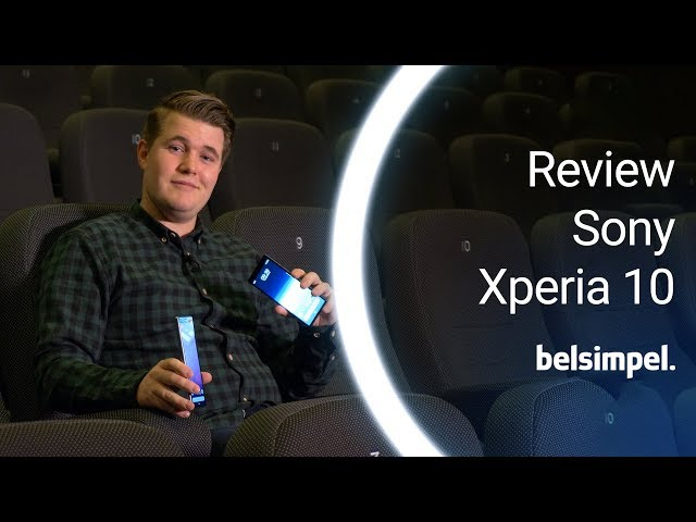 Belsimpel-productvideo voor de Sony Xperia 10 Plus Black