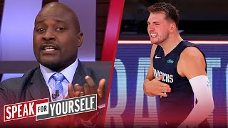 Marcellus Wiley reacts to his Luka dominating his Clippers to tie series | NBA | SPEAK FOR YOURSELF