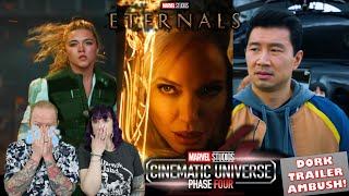 Eternals and MCU Phase 4 Teaser made us cry! (Black Widow, Shang-Chi, Eternals, Marvel, 2021)
