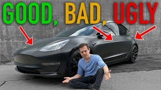 Everything wrong with my Tesla Model 3
