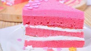 Pink Cake (Cake Nom Chom Poo)