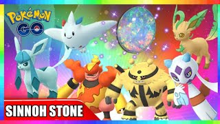 NEW SINNOH STONE to EVOLVE 22 GEN 4 POKEMON in Pokemon Go!