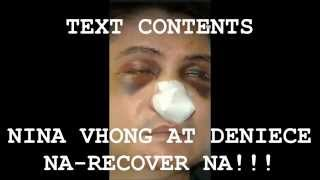 ALLEGED TEXT MESSAGES BETWEEN VHONG and DENIECE RECOVERED? THIS IS A JOKE