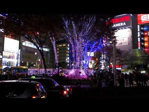 SONY RX100M2 Sample Video, Night of Tokyo