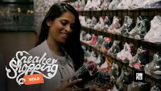 Lilly Singh Goes Sneaker Shopping with Complex