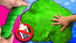 DIY Slime Without Glue [GIANT SIZE] Slime Recipe without cornstarch, salt or shampoo
