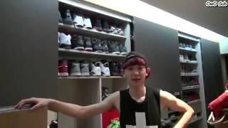 Chanyeol tiết lộ kí túc xá exo
