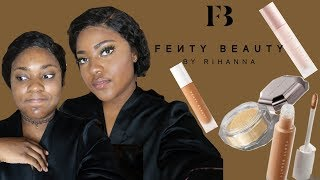 NEW FENTY BEAUTY PRO FILT'R CONCEALER & SETTING POWDER | FIRST IMPRESSIONS + REVIEW
