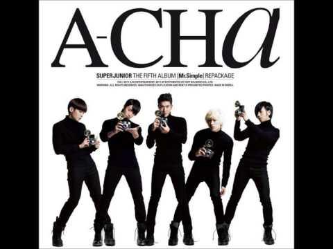 Super Junior 슈퍼주니어 - A-Cha Official Audio HD