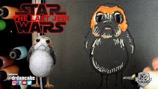 Porg (Star Wars: The Last Jedi) Pancake Art