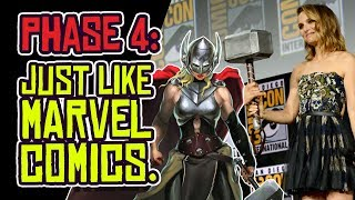 MARVEL PHASE 4: Repeating Marvel Comics' MISTAKES?