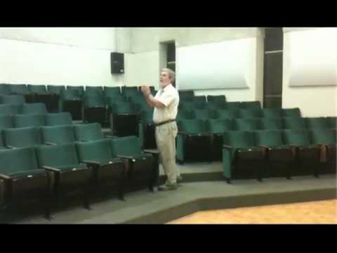 Sound Diffusers in an Auditorium (Noise Control Products Application)