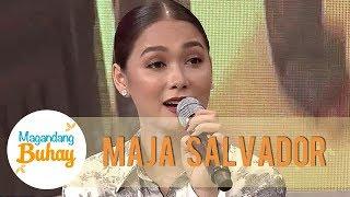 Maja reveals Kathryn helped her for Kakai Bautista's birthday celebration   Magandang Buhay