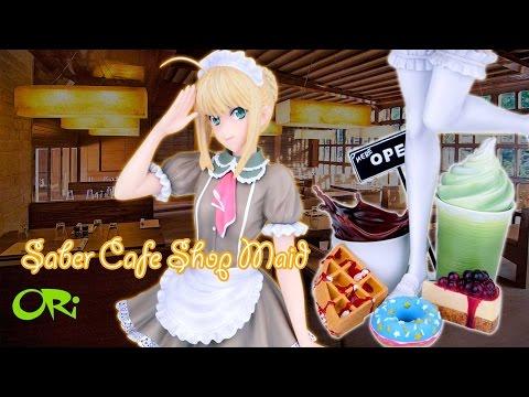 PF8599 Saber Cafe Shop Maid Sample Preview