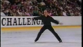 Scott Hamilton - 1992 Pro-Am Figure Skating Challenge, Men's Artistic Program