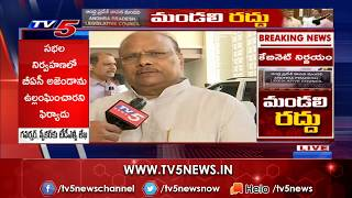 Yanamala Ramakrishnudu reacts on AP Cabinet decision on Co..