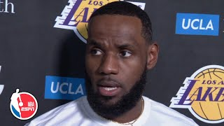 LeBron addresses Daryl Morey's tweet and Lakers' trip to China   NBA on ESPN
