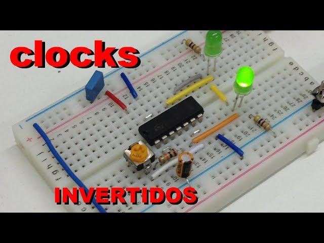 GERANDO CLOCKS INVERTIDOS | Conheça Eletrônica! #027