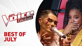 BEST OF JULY 2019 in The Voice