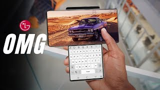 LG Wing - THIS IS CRAZY PHONE !!