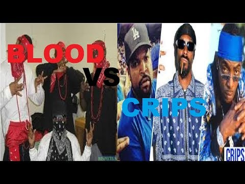 Blood Vs Crip Rappers