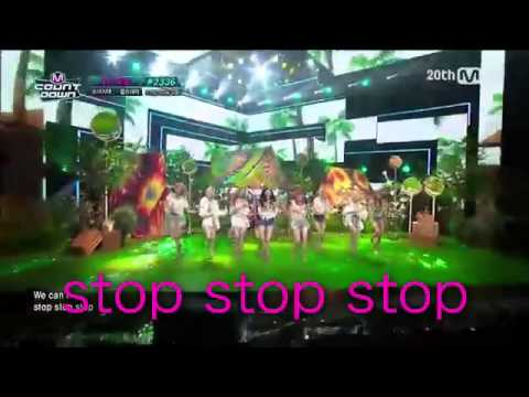PARTY 【掛け声】 少女時代 소녀시대