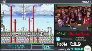 AGDQ 2015 - I Wanna Be The Boshy 100% Speedrun in 1:02:22 by witwix