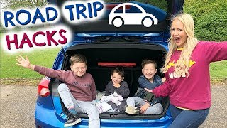 ROAD TRIP HACKS  AD  |  SUMMER MOM HACKS  |   EMILY NORRIS