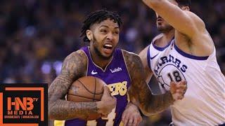 Los Angeles Lakers vs Golden State Warriors 1st Half Highlights / Week 10 / Dec 22