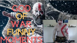 God of War 4 Funny Moments Twitch Streams #2