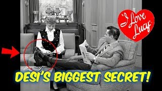 Desi Arnaz's BIGGEST Secret on I Love Lucy was ALWAYS Visible! I'll Tell You About it!