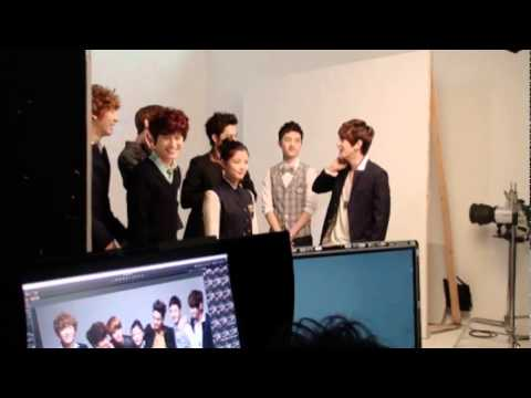 EXO-K & 김유정 2012 아이비클럽 메이킹 영상
