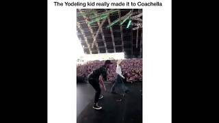 Yodeling Walmart Boy Performs At Coachella